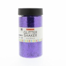 4oz. Glitter Shaker- Purple