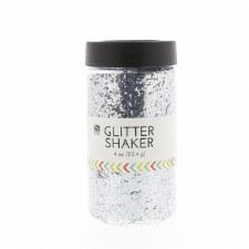 4oz. Glitter Shaker- Silver