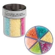 Glitter Caddy- Confetti Shapes, Bright