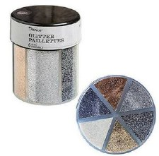 Glitter Caddy- Fine Glitter, Metallic