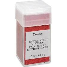 Glitter, 1.5oz- Extra Fine Cherry