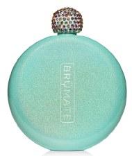 Flask 5oz- Glitter Aqua