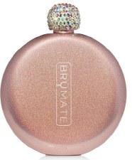 Flask 5oz- Glitter Rose Gold