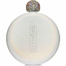 Flask 5oz- Glitter White