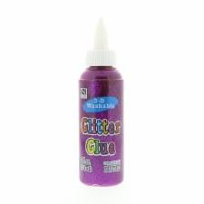 4oz. Glitter Glue- Purple
