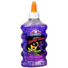 Elmer's Glitter Glue- Purple, 4 oz.