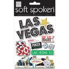 MAMBI Soft Spoken Stickers- Travel- Glitzy Las Vegas