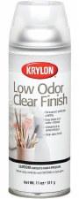 Clear Finish Spray, 12oz- Low Odor Gloss