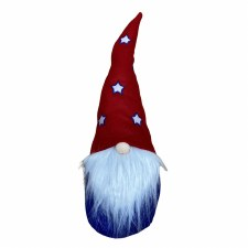 4th of July Gnome- Red Star Hat