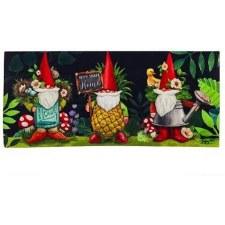 Sassafrass Switch Mat Insert- Gnomes in the Garden