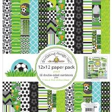 Goal!  12x12 Paper Pack