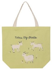 Tote Bag- Totes My Goats
