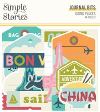 Going Places Bits & Pieces Die Cuts- Journal