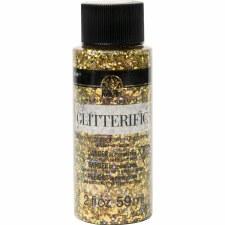 FolkArt Glitterific Glitter Paint, 2 oz- Gold
