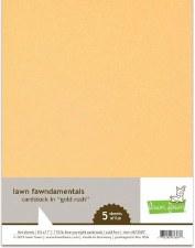 Lawn Fawn Cardstock Pack- Metallic Gold Rush