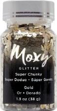 Moxy Super Chunky Confetti Glitter- Gold