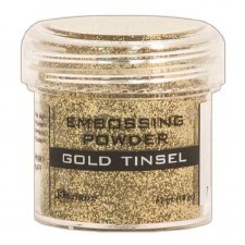 Embossing Powder- Gold Tinsel