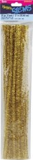 "Darice Chenille Tinsel Stems 6mm, 12""- Gold"