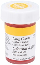Icing Color, 1oz- Golden Yellow