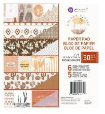 Golden Desert 6x6 Paper Pad