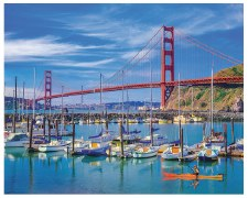 Golden Gate Bridge - 1,000 Piece Puzzle