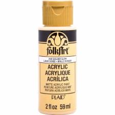 FolkArt 2oz. Acrylic Paint-Golden Glow