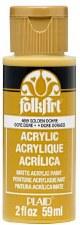 FolkArt 2 Oz. Acrylic Paint- Golden Ochre