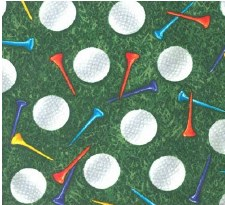 Score! Sports Bolted Fabric- Golf Balls + Tees