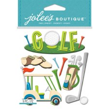 Jolee's Golf Dimensional Stickers- Golf