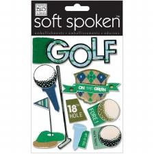 MAMBI Soft Spoken Stickers- Golf