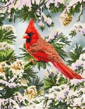 Diamond Facet Art Kit- Good Fortune Cardinal