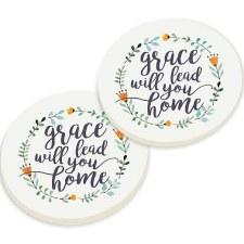 Car Coasters, 2pk- Grace