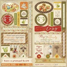 Gracious Element Die Cuts