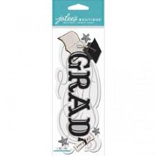Jolee's Graduation Dimensional Title Stickers- Grad