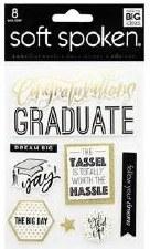 MAMBI Soft Spoken Stickers- Graduate