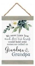 Banner Art- Grandma & Grandpa