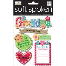 MAMBI Soft Spoken Stickers- Family- Grandma