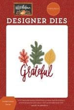 Hello Autumn Designer Dies- Grateful Leaves