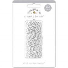 Doodlebug Chunky Twine- Gray