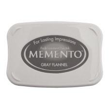 Memento Dye Ink Pad- Gray Flannel