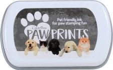 Paw Prints Pet Friendly Ink- Gray