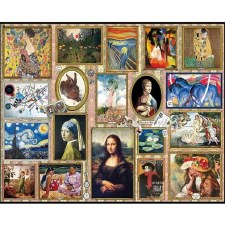 Great Paintings - 1,000 Piece Puzzle