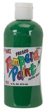 Fresco Tempera Paint, 16oz- Green