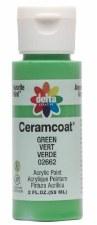 Delta Ceramcoat Acrylic Paint, 2oz- Greens: Green