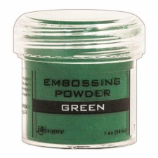 Embossing Powder- Green