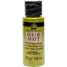 FolkArt Color Shift Metallic Acrylic Paint, 2oz- Green Flash