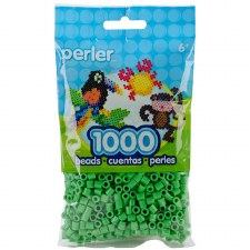 Perler Beads 1000 piece- Bright Green