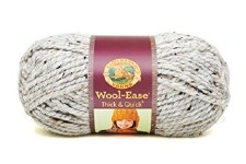 Wool Ease Thick & Quick Yarn- Grey Marble