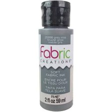 Fabric Creations 2oz Fabric Paint- Grey Mist