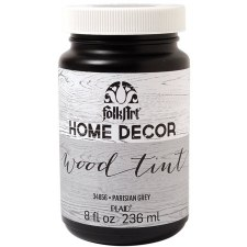FolkArt Home Decor Wood Tint 8 oz- Grey
